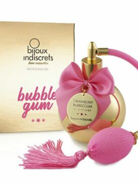 BIJOUX BUBBLE GUM BRUMA CORPORAL CHICLE FRESA 100 ML