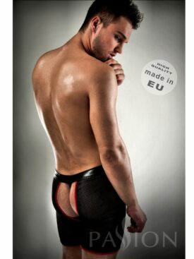 BOXER RED BLACK PASSION WITH THONG INCLUIDED S/M