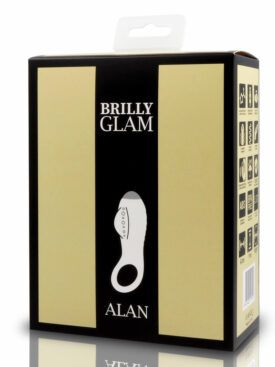 BRILLY GLAM ALAN COCK RING LUXE BLACK