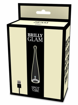 BRILLY GLAM SPOT VIBE CLITORIAL BLACK