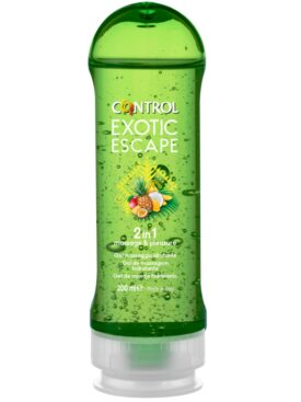 CONTROL 2-1 MASSAGE  & PLEASURE EXOTIC 200ML