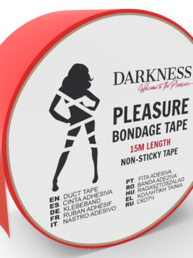 DARKNESS NON STICKY TAPE RED 15M