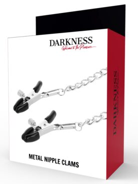 DARKNESS ADJUSTABLE NIPPLE CLAMPS METAL