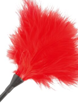 DARKNESS RED FEATHER 42CM