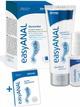 EASY ANAL STARTER SET LUBRICANTE + RELAJANTE ANAL
