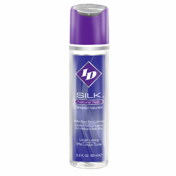 ID SILK NATURAL FEEL WATER/SILICONE 65ML