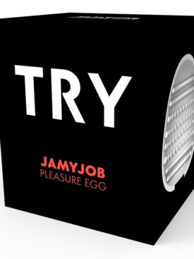 JUMYJOB EGG MASTURBATOR BLACK VERSION DISCRETT