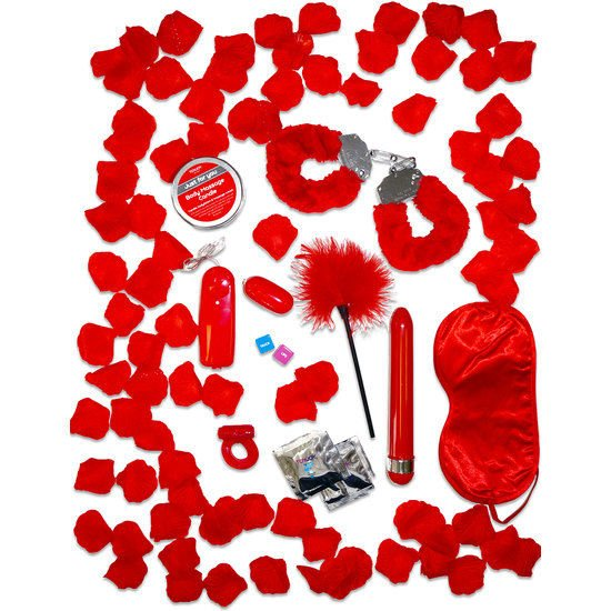 JUST FOR YOU RED ROMANCE GIFT SET JUST FOR YOU