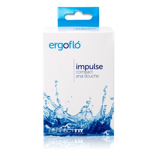 PERFECTFIT ERGOFLO IMPULSE ANAL DOUCHE BLACK