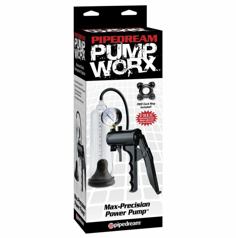 PUMP WORX BOMBA DE ERECCION MAXIMA PRECISION PUMP WORX