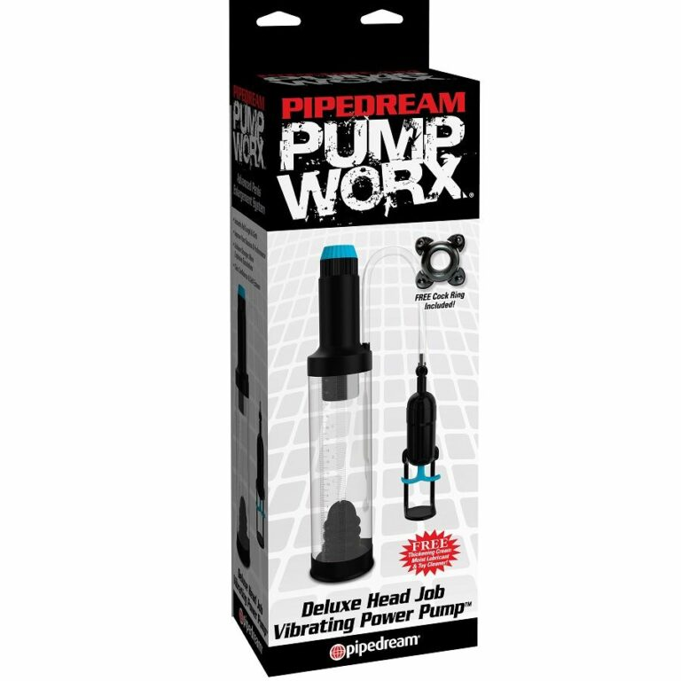 PUMP WORX PUMP WORX DELUXE HEAD JOB VIBRATING POWER PUMP
