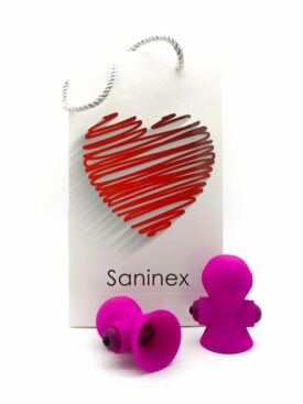 SANINEX SUCTIONER WORLD ESTIMULADOR PEZONES ROSA