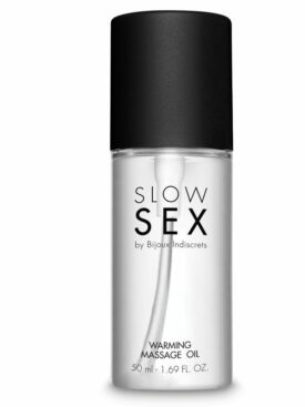SLOW SEX WARMING MASSAGE OIL 50 ML