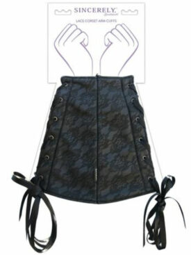 SPORTSHEETS SINCERELY LACE CORSET ARM CUFFS