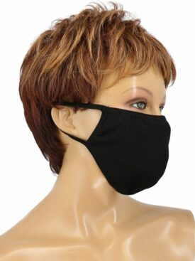 COVID-19 COTTON MASK - BLACK