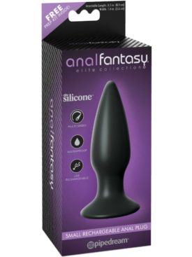 ANAL FANTASY ELITE COLLECTION SMALL RECHARGEABLE ANAL PLUG