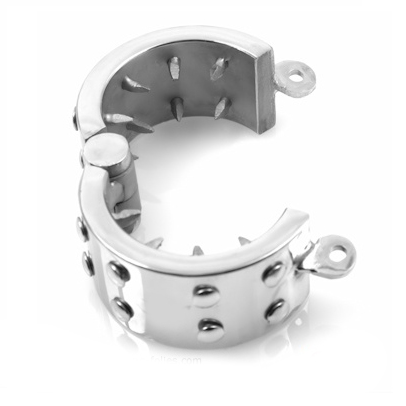 METAL HARD COCK RING CHASTITY