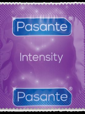 PASANTE RIBS & DOTS INTENSITY 12 PACK