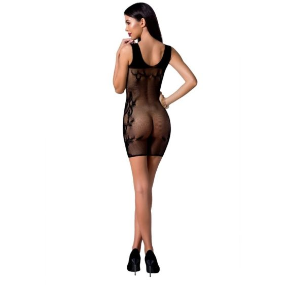 PASSION WOMAN BS073 BODYSTOCKING - BLACK ONE SIZE