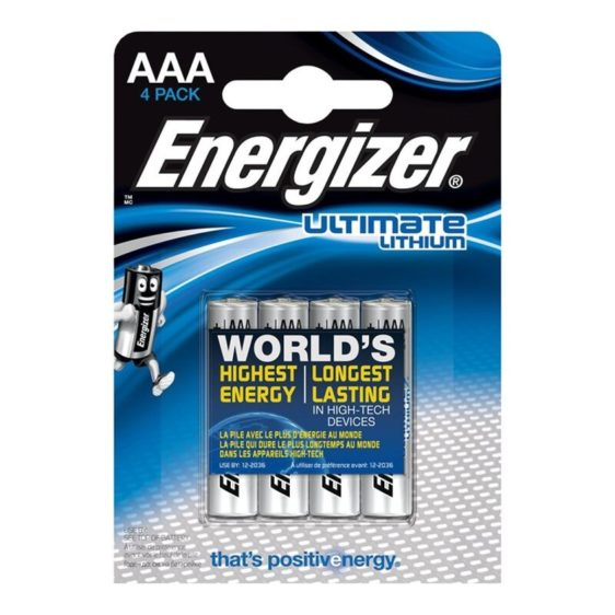 ENERGIZER ULTIMATE LITHIUM PILA LITIO AAA L92 LR03 1