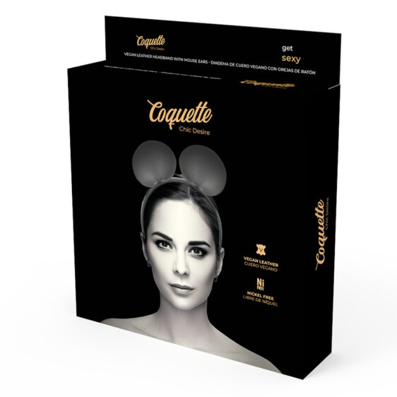 COQUETTE CHIC DESIRE HEADBAND WITH MOUSE EARS