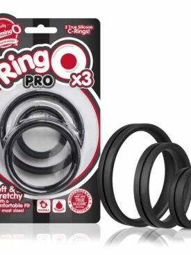 SCREAMING O RINGO PRO XXL COCK RING - BLACK