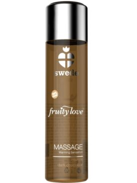 SWEDE FRUITY LOVE ACEITE EFECTO CALOR CHOCOLATE NEGRO 120 ML