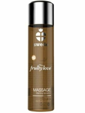 SWEDE FRUITY LOVE ACEITE EFECTO CALOR CHOCOLATE NEGRO 60 ML