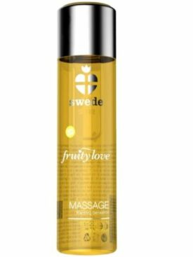 SWEDE FRUITY LOVE ACEITE EFECTO CALOR FRUTAS TROPICALES Y MIEL 60 ML