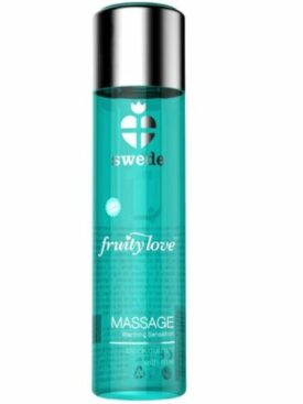 SWEDE FRUITY LOVE ACEITE EFECTO CALOR GROSELLA NEGRA Y LIMA 60 ML