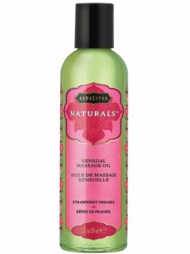 KAMASUTRA ACEITE DE MASAJE NATURAL STRAWBERRY DREAMS 59 ML
