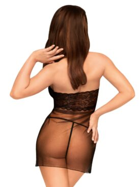 PENTHOUSE CHEMISE ALL YOURS - BLACK S/M