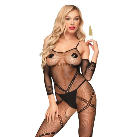 PENTHOUSE UNDER ARREST BODYSTOCKING S-L