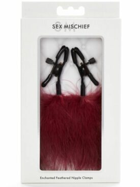 SEX & MISCHIEF ENCHANTED FEATHERED NIPPLE CLAMPS